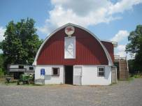 main barn at Flying Horse Farm