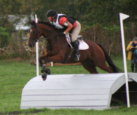 2012: Becca competing at Flora Lea Farms