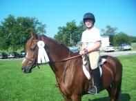 Katrine - lesson pony extraordinaire!