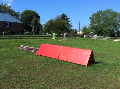 Cross Country fences