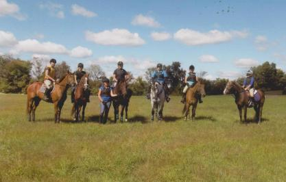 Group cross country school!