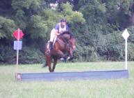 Student Kristen and her horse, Mr. Kranz